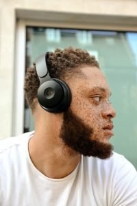 Mixed Raced Man With Freckles